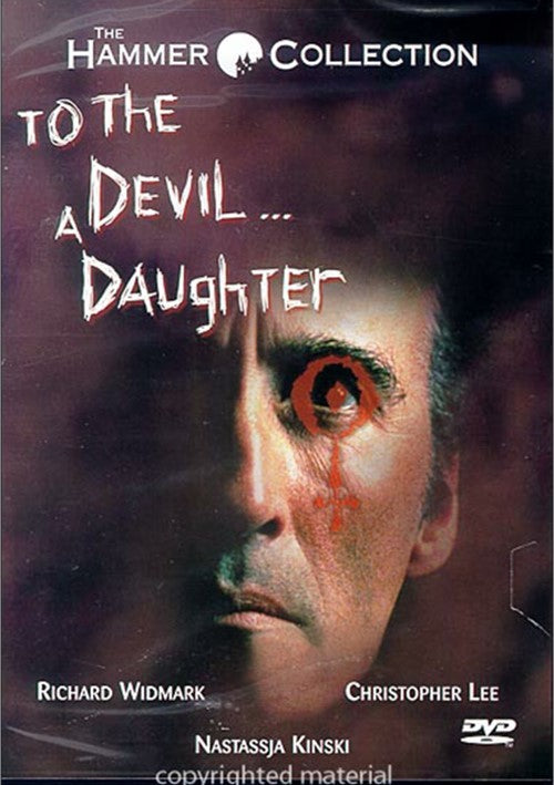 To The Devil...A Daughter (1976) - Christopher Lee  DVD