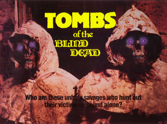 Tombs Of The Blind Dead (1971) - Amando de Ossorio UNCUT  DVD