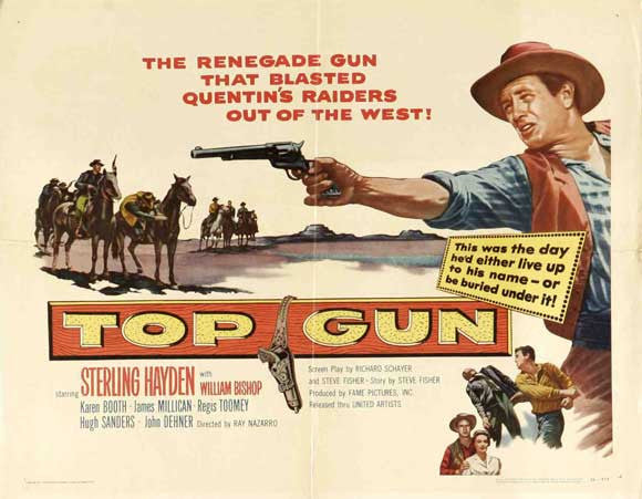 Top Gun (1955) - Sterling Hayden  DVD