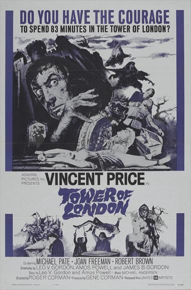 Tower Of London (1962) - Vincent Price  DVD
