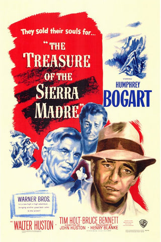 Treasure Of The Sierra Madre (1948) - Color Version DVD