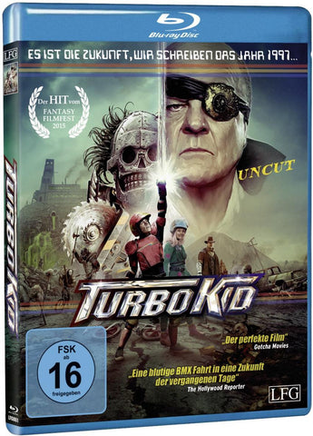 Turbo Kid (2015) - Michael Ironside  Blu-ray