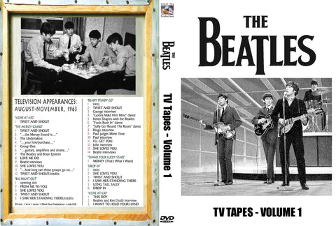 The Beatles : TV Tapes Vol. 1 DVD