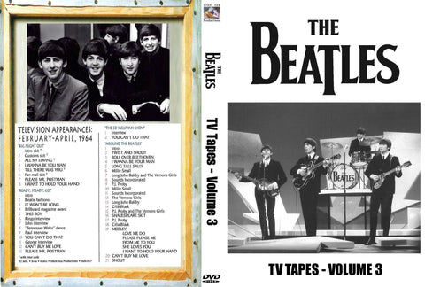 The Beatles : TV Tapes Vol. 3  DVD