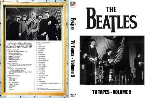 The Beatles : TV Tapes Vol. 5   DVD