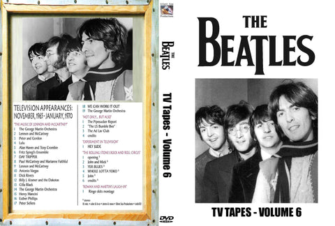 The Beatles : TV Tapes Vol. 6  DVD