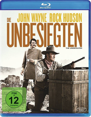 The Undefeated (1969) - John Wayne  Blu-ray