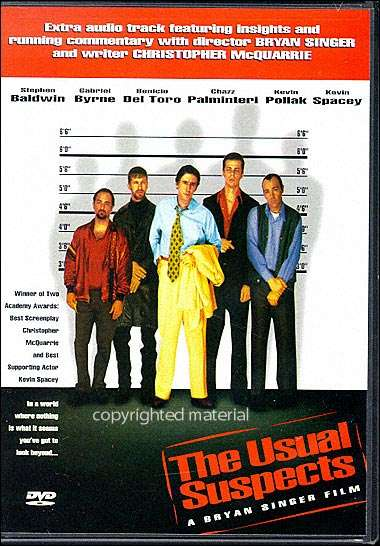 The Usual Suspects (1995) - Kevin Spacey  DVD