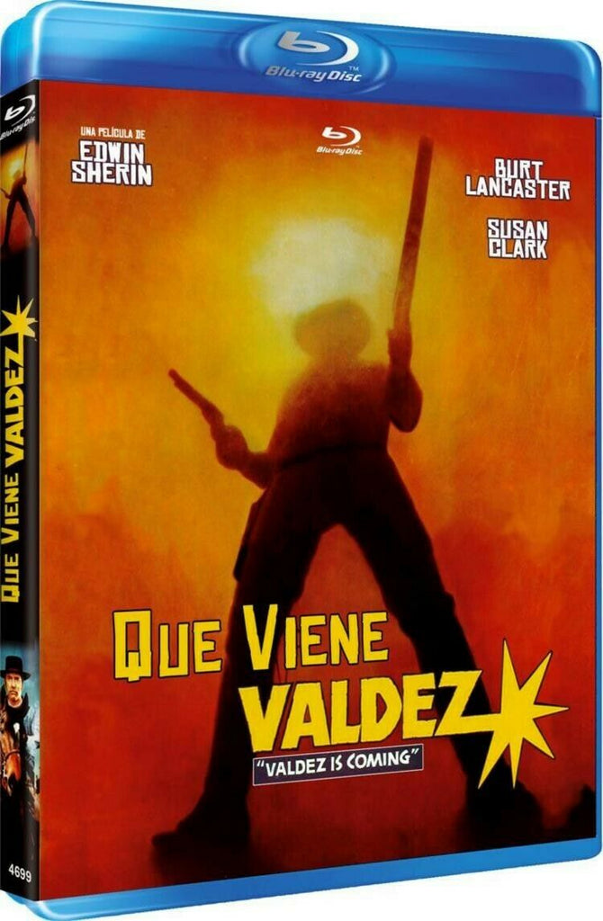 Valdez Is Coming (1971) - Burt Lancaster  Blu-ray