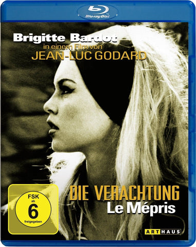 Contempt (1963) - Brigitte Bardot  Blu-ray