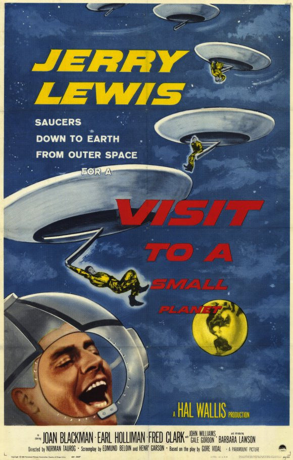 Visit To A Small Planet (1960) - Jerry Lewis  DVD