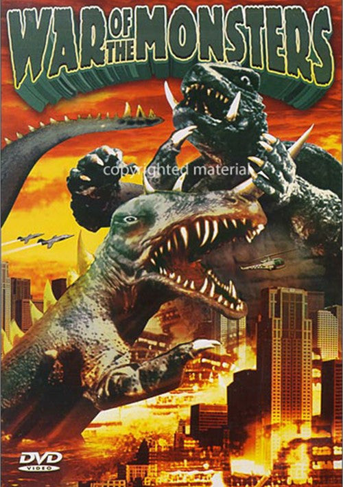 War Of The Monsters (1966)  DVD