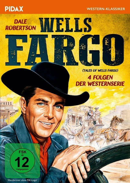 Tales Of Wells Fargo : TV Series - Dale Robertson   DVD