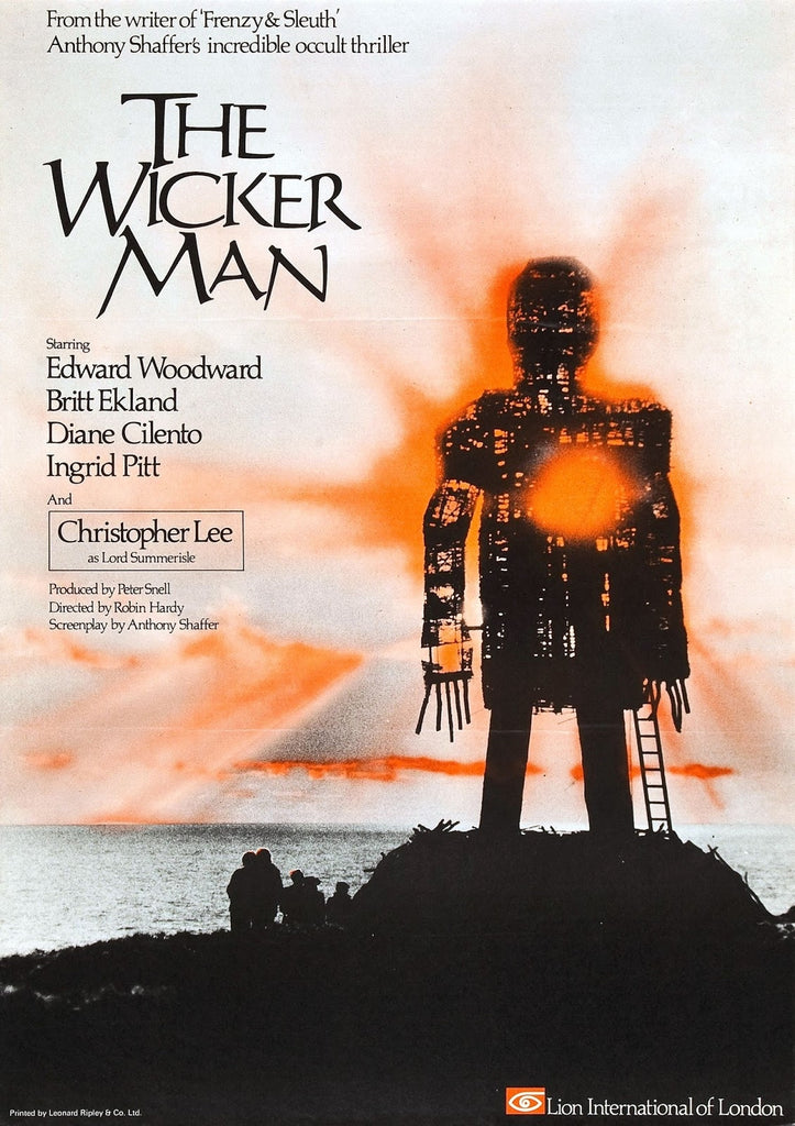 The Wicker Man (1973) - Christopher Lee  DVD