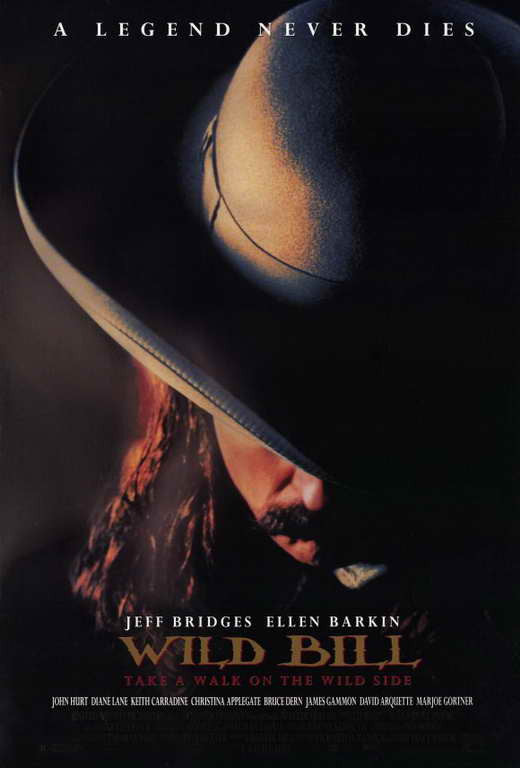 Wild Bill (1995) - Jeff Bridges  DVD