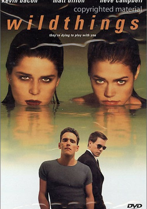 Wild Things (1998) - Kevin Bacon UNRATED  DVD