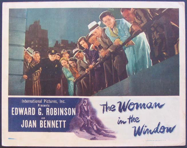 The Woman In The Window (1944) - Color Version DVD