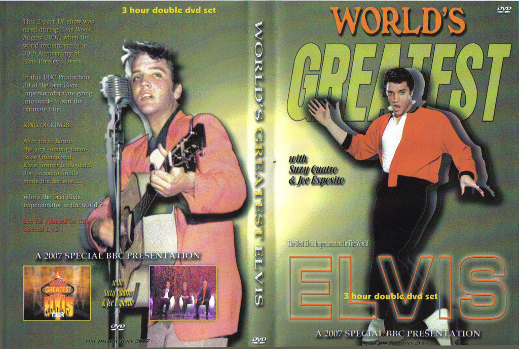 World´s Greatest Elvis - 2 DVD Set
