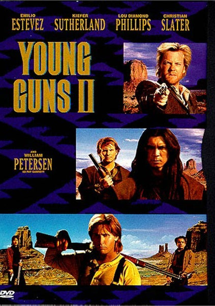 Young Guns 2 (1990) - Kiefer Sutherland  DVD