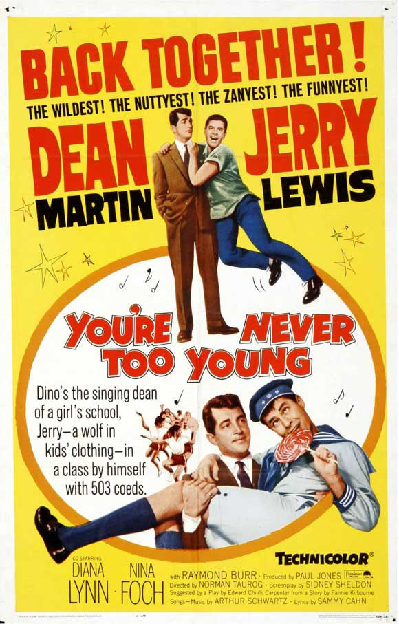 You´re Never Too Young (1955)  DVD