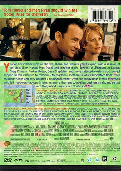You´ve Got Mail (1998) - Tom Hanks  DVD