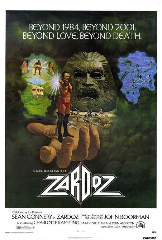 Zardoz (1971) - Sean Connery  DVD