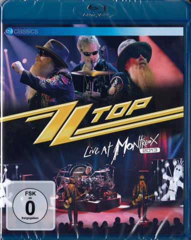 ZZ Top :  Live At Montreux 2013  Blu-ray