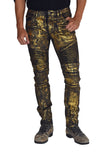ANARCHY Gold Stretch Moto Pant