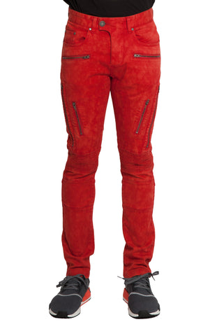 Racer Zippered Stretch Pant
