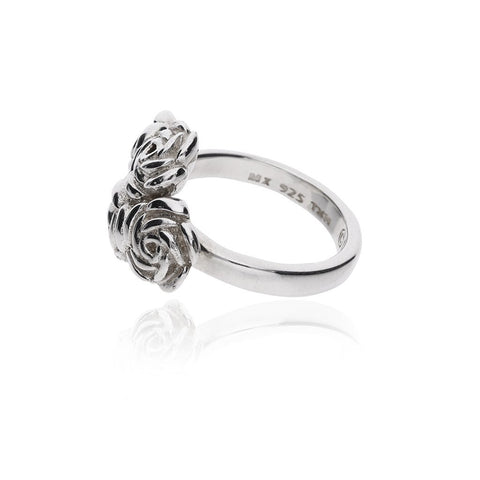 Anillo Multirosas Bouquet de Plata