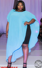 Asymmetrical Drape Cover up