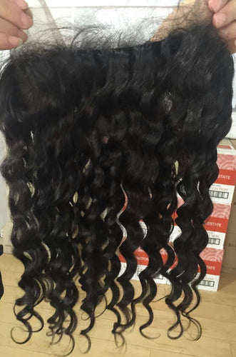 Brazilian Curly Frontal