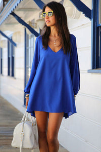 Mini Chiffon Dress