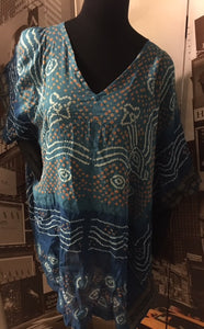 Multi Color Print Tunic