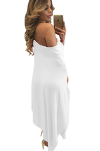 Drape Off The Shoulder Dress