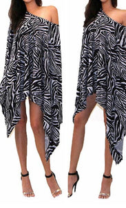 Chic Zebra Cover Up