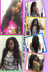 Brazilian Kinky Straight Hair