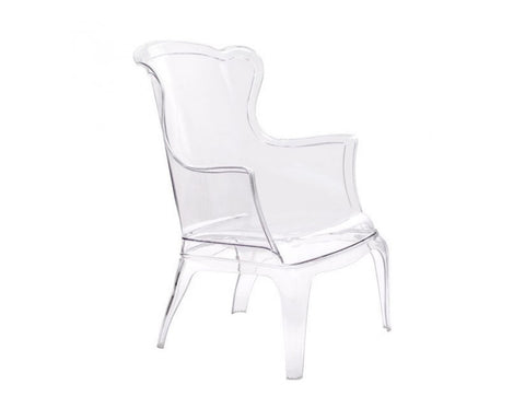 VISION OCCASIONAL ARMCHAIR TRANSPARENT