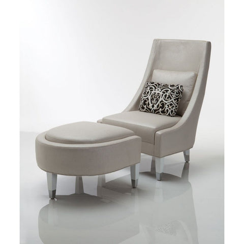 Setai LS TS Chair And Ottoman