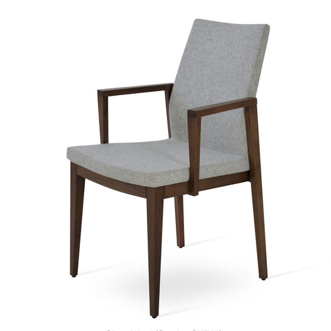 Pasha Wood Armchair