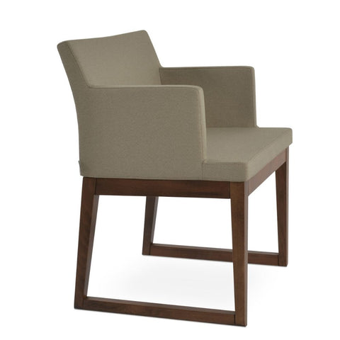 Soho Sled Wood Chair