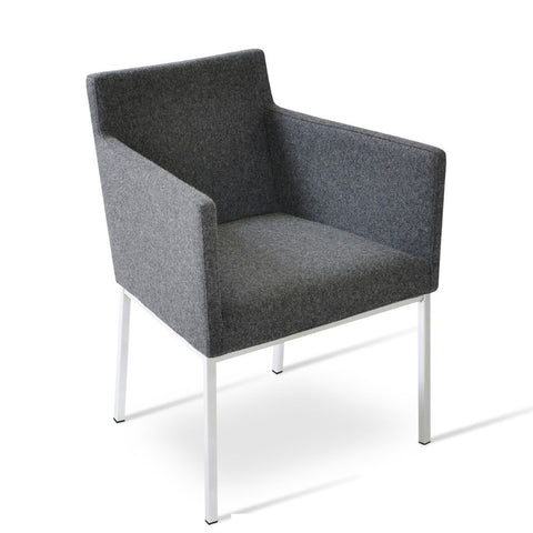 Harput Chrome Armchair