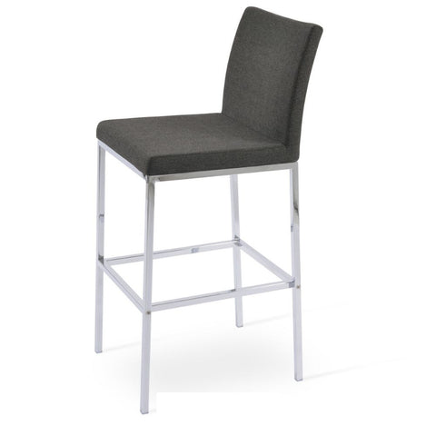 Aria Chrome Stool