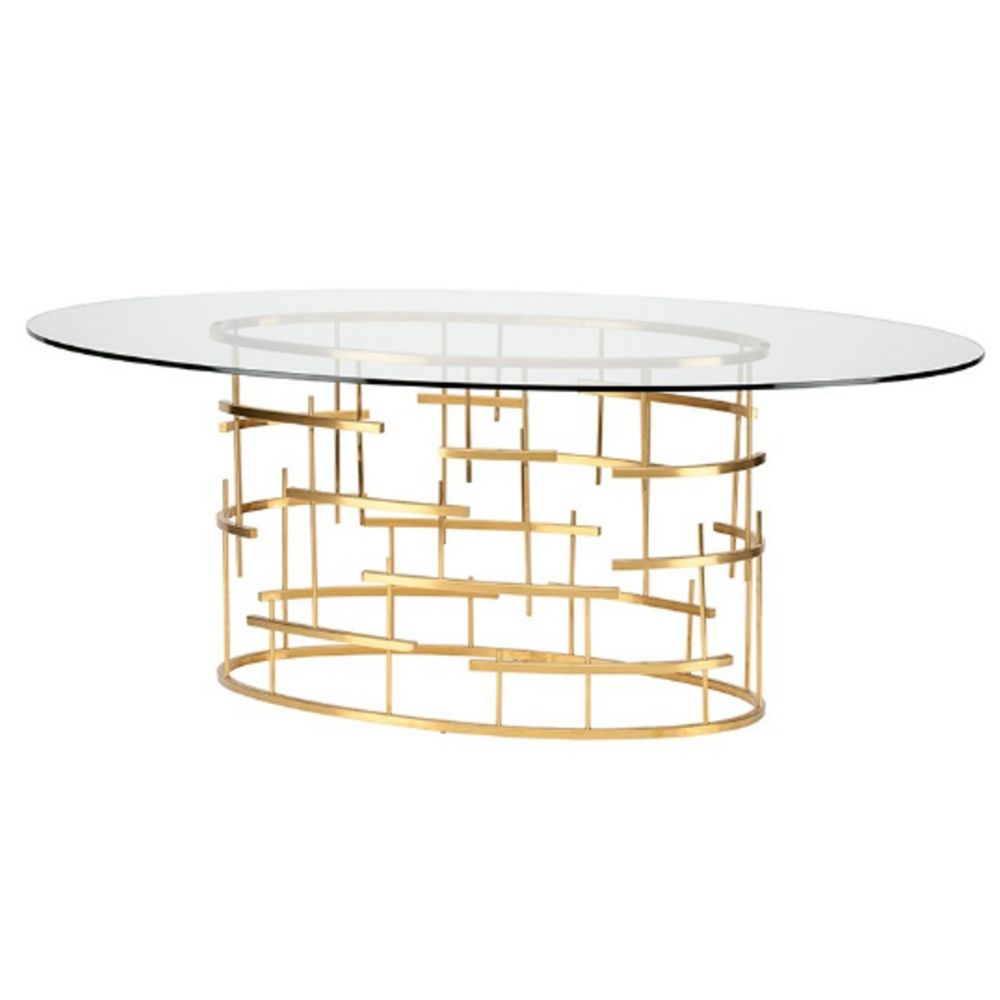 Oval Tiffany Table