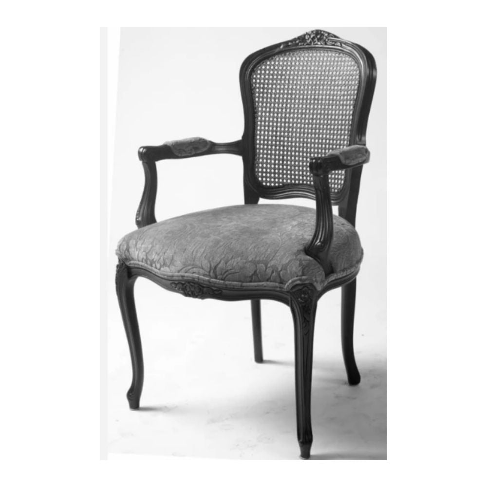 344 Cane Back Arm Chairs
