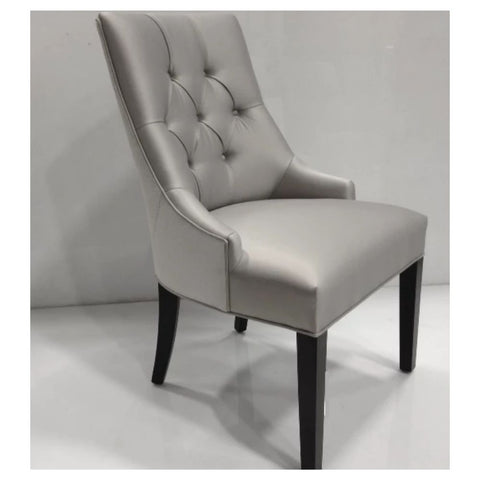 Erica Diamond Tufted Side Chair