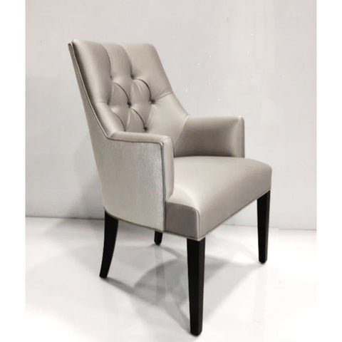 Erica Diamond Tufted Armchair