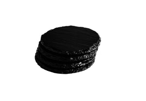 Black Gloss Slate Coasters