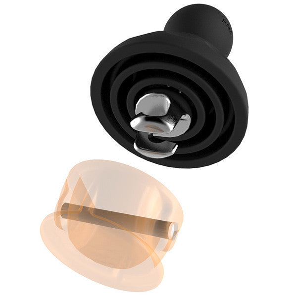 "RAM Leash Plug Adapter with 1"" Ball"