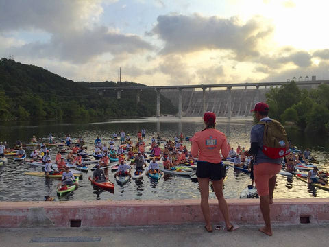 7th Annual Tyler's Dam That Cancer with Ronnie Ayres ready for launch debriefing